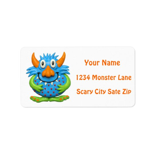 Monster Party Label
