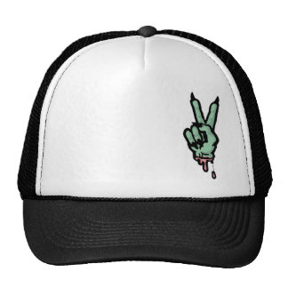 Monster Peace Sign Mesh Hats