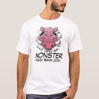 Monster Piggy Bank T-Shirt
