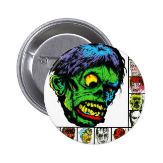 Monster Retro monsters Button