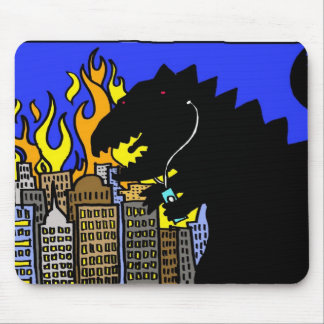 monster rock mouse pad