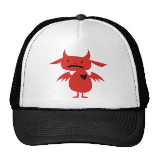 Monster Silhouette Trucker Hats