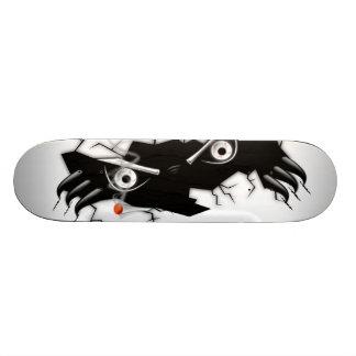 monster smoke 20 cm skateboard deck
