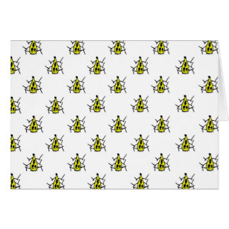 MONSTER SPIDER GREETING CARD