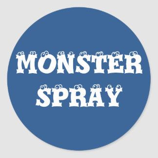 """Monster Spray"" Stickers"