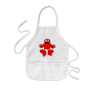 monster toddler aprons