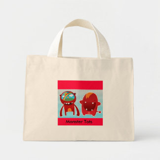 Monster Tots Tote Mini Tote Bag