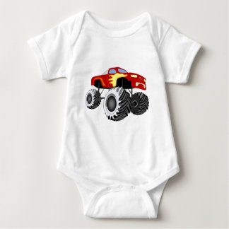 Monster Truck Baby Bodysuit