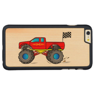 Monster Truck Carved Maple iPhone 6 Plus Case