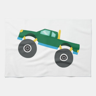Monster Truck Tea Towel