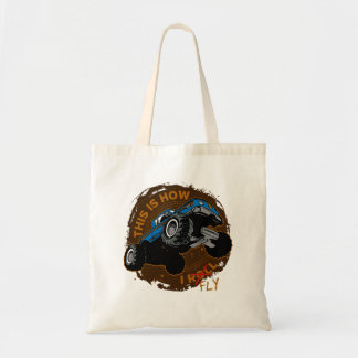 Monster Truck This is How I Fly Tote Bag