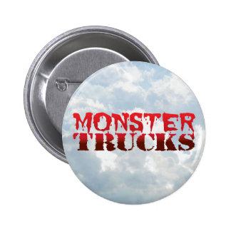 Monster Trucks - Round Button