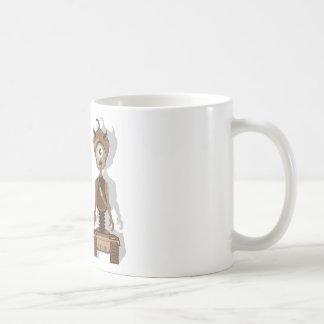 Monster vector basic white mug