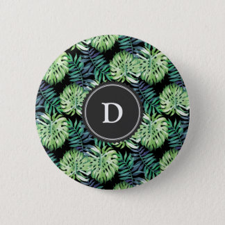 Monstera deliciosa Hawaiian 6 Cm Round Badge