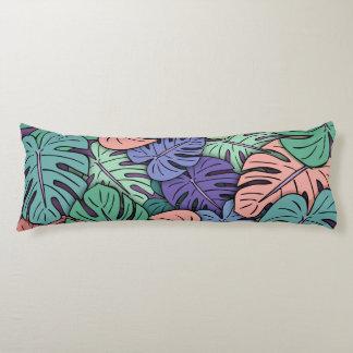 Monstera Leaves #8 Body Cushion