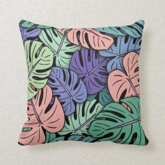 Monstera Leaves #8 Cushion