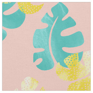 Monstera leaves Fabric