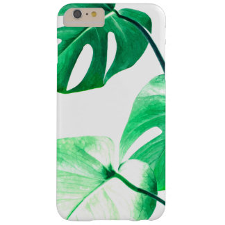 Monstera leaves tropical summer foliage barely there iPhone 6 plus case