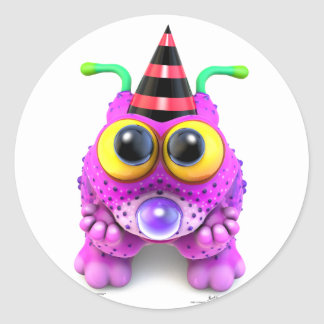 Monsterlings - Poof Gots Nones Classic Round Sticker
