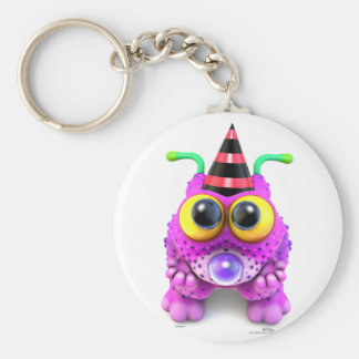 Monsterlings - Poof Gots Nones Key Ring