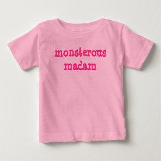 Monsterous Madam Baby T-Shirt