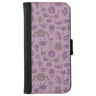 Monsters and Aliens iPhone 6 Wallet Case
