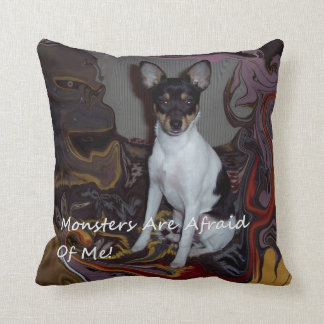 Monsters Are Afraid Of Me! Cushion