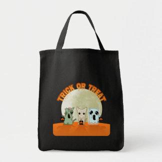 Monsters halloween bag
