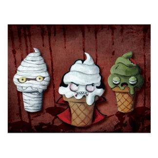 Monsters Halloween Team! Postcard
