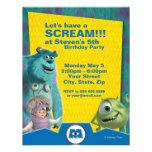 Monsters, Inc. Birthday Invitation Personalized Invitation