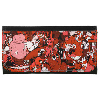 Monsters & Mummies Cartoon Wallet