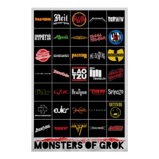 Monsters of Grok Poster