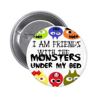 Monsters Under Bed Pins