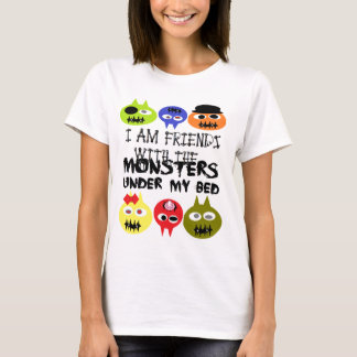 Monsters Under Bed T-Shirt