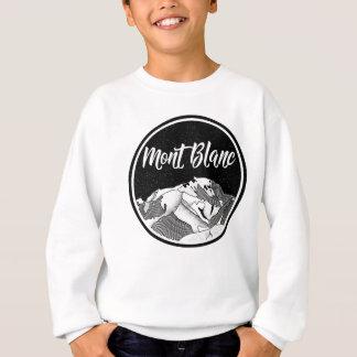 Mont Black France Black and white Sweatshirt