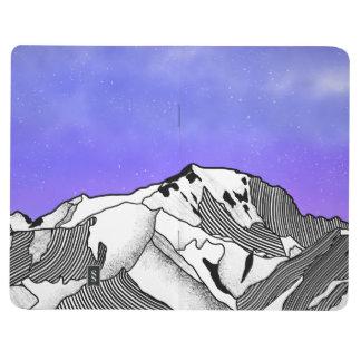 Mont Blanc evening landscape Journal