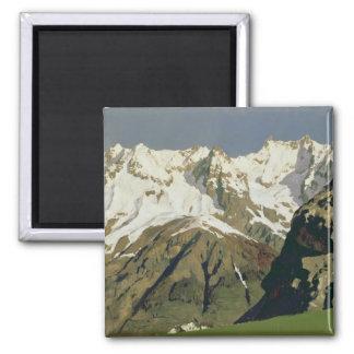 Mont Blanc Mountains, 1897 Magnet