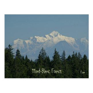 Mont-Blanc Postcard