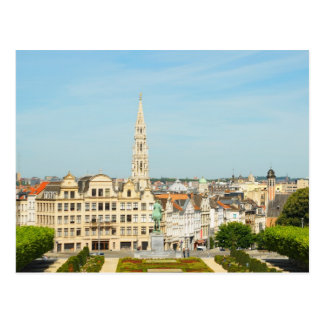 Mont des Arts in Brussels, Belgium Postcard