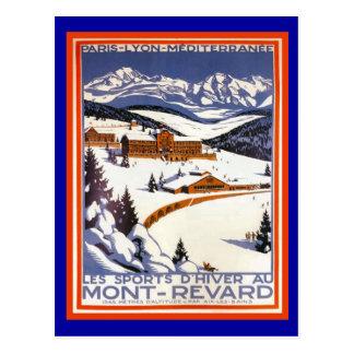 Mont Revard Postcard