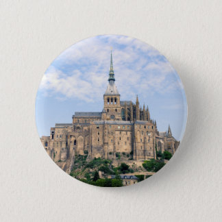 Mont Saint-Michel 6 Cm Round Badge