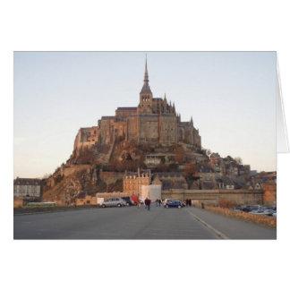 Mont Saint-Michel, France Card