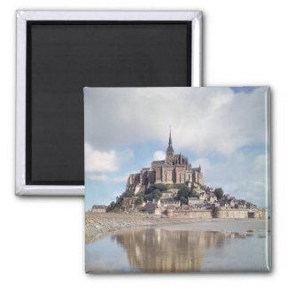 Mont Saint-Michel Square Magnet