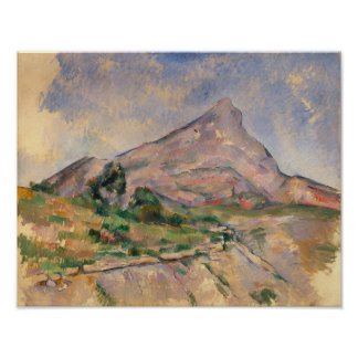 Mont Sainte-Victoire, 1897-98 Poster