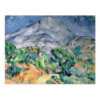 Mont Sainte-Victoire, 1900 Postcard