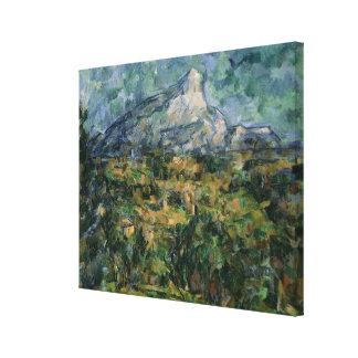 Mont Sainte-Victoire, 1904-05 Canvas Print