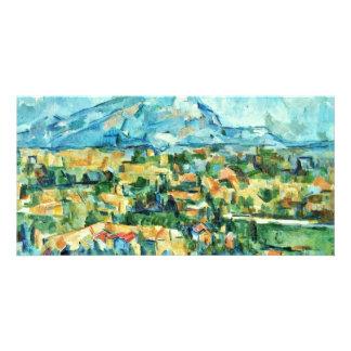 Mont Sainte-Victoire By Paul Cézanne (Best Quality Customised Photo Card