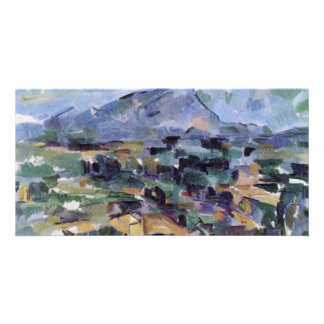 Mont Sainte-Victoire By Paul Cézanne (Best Quality Customised Photo Card