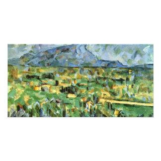 Mont Sainte-Victoire By Paul Cézanne (Best Quality Photo Greeting Card
