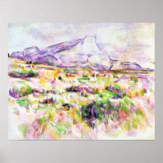 Mont Sainte-Victoire from Les Lauves Poster